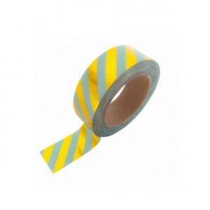Lizet Beek, tape mint met gouden streep