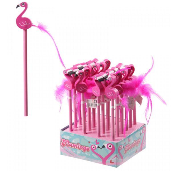 Gift, Flamingo potlood