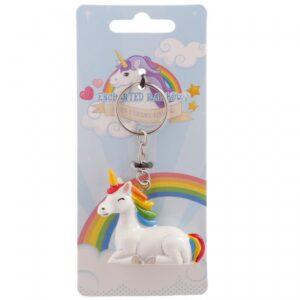 Gift , sleutelhanger unicorn eenhoorn
