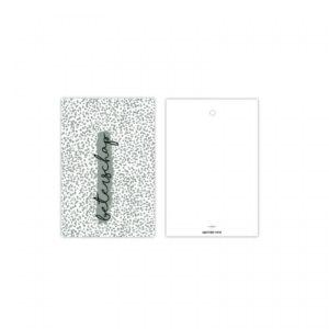 By Studio Steef, kadolabel : minikaartje, Beterschap