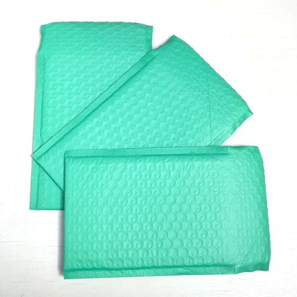Folie bubbeltjes envelop, 20cmx15cm, Mint ( per stuk )