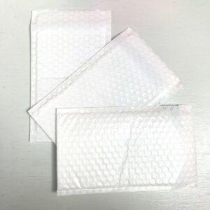 Folie bubbeltjes envelop, 20cmx15cm, Wit ( per stuk )