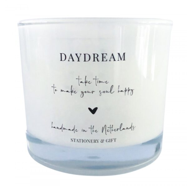 Stationery & GIft, Geurkaars `DAYDREAM` 200 ml