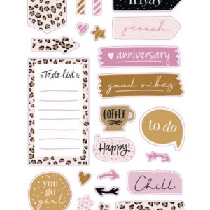 Stationery & Gift, Stickervel planner stickers
