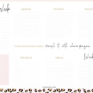Stationery & Gift, Weekly planner weekplanner