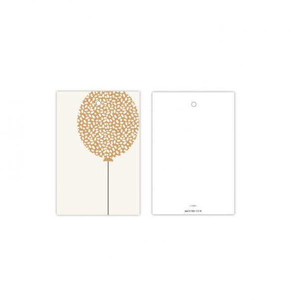 Studio Steef, minikaart / kadolabel , Ballon