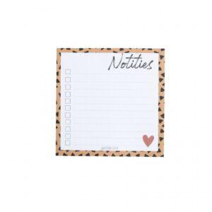 Studio Steef, notitieblokje klein `Notities`