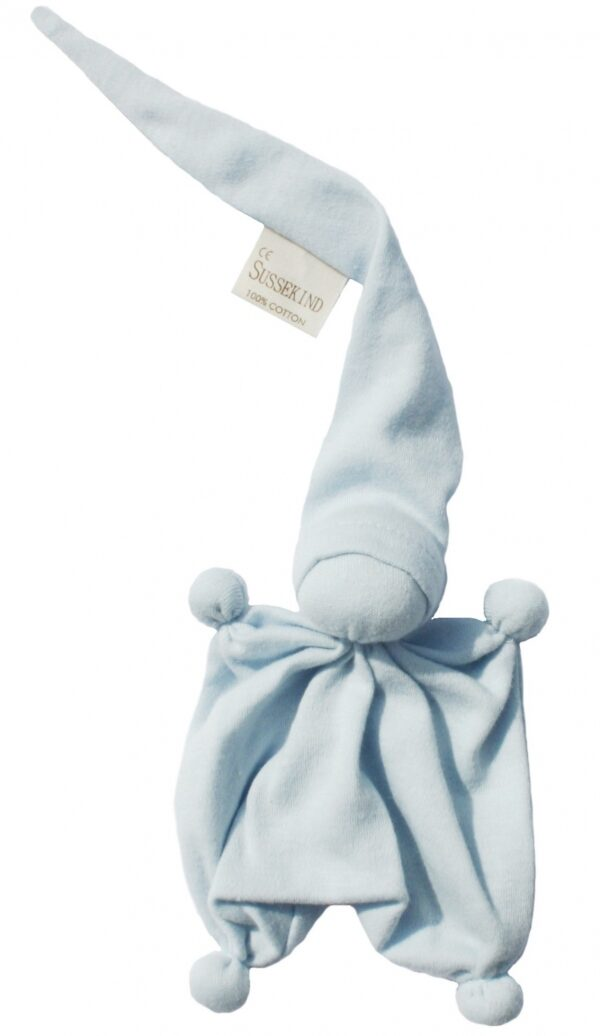 Süssekind Duimpopje tricot 10cmx12cm ( zonder muts gemeten ) Lichtblauw