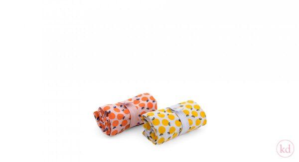 Tas, katoenen tas, Oranje naranja / sinaasappel