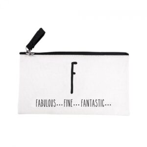 LiL, canvas letter etui, F