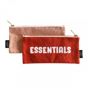 Studio Stationery, Canvas bag Etui, Essentials